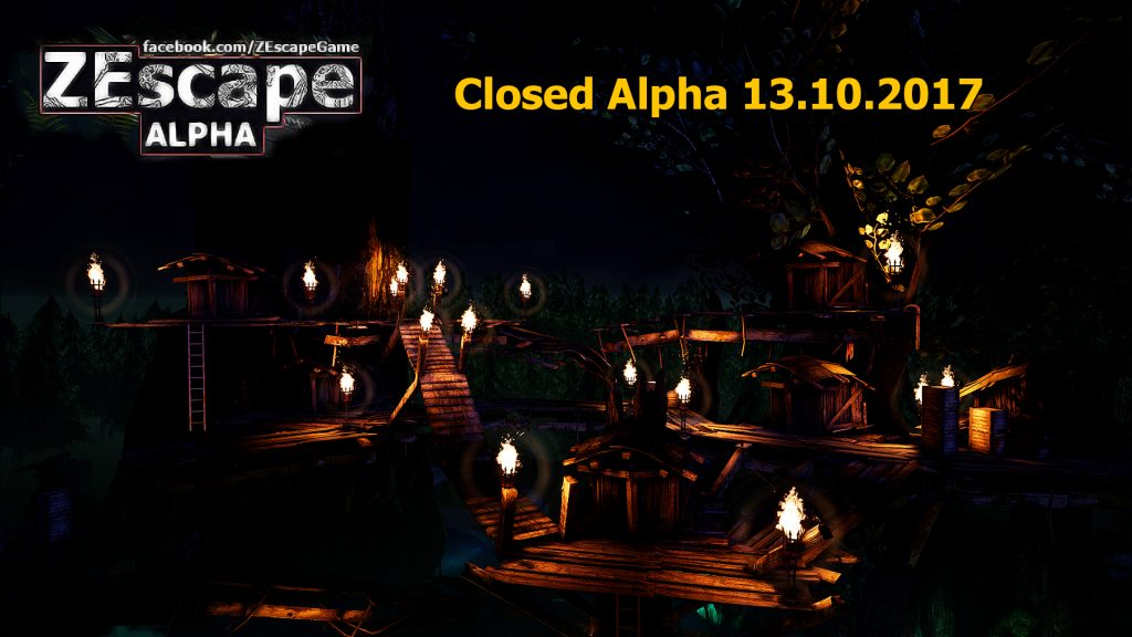 ZEscape Closed Alpha dates announced!