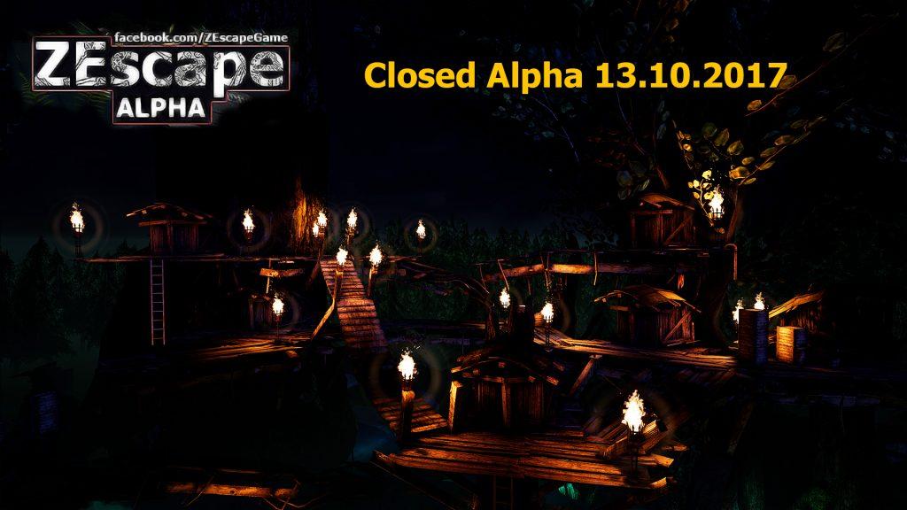 ZEscape Closed Alpha dates announced!